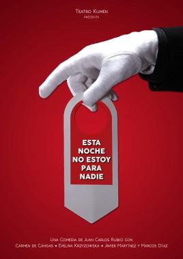 ESTA NOCHE NO ESTOY PARA NADIE