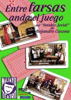 ENTRE FARSAS ANDA EL JUEGO