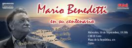 Mario Benedetti en su centenario