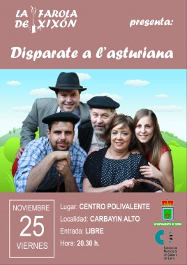 Disparate a l´asturiana